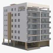 Immeuble 03 3d model