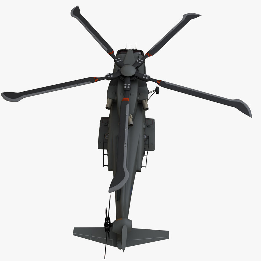 Agusta Westland AW101 - Merlin HC3 royalty-free 3d model - Preview no. 18