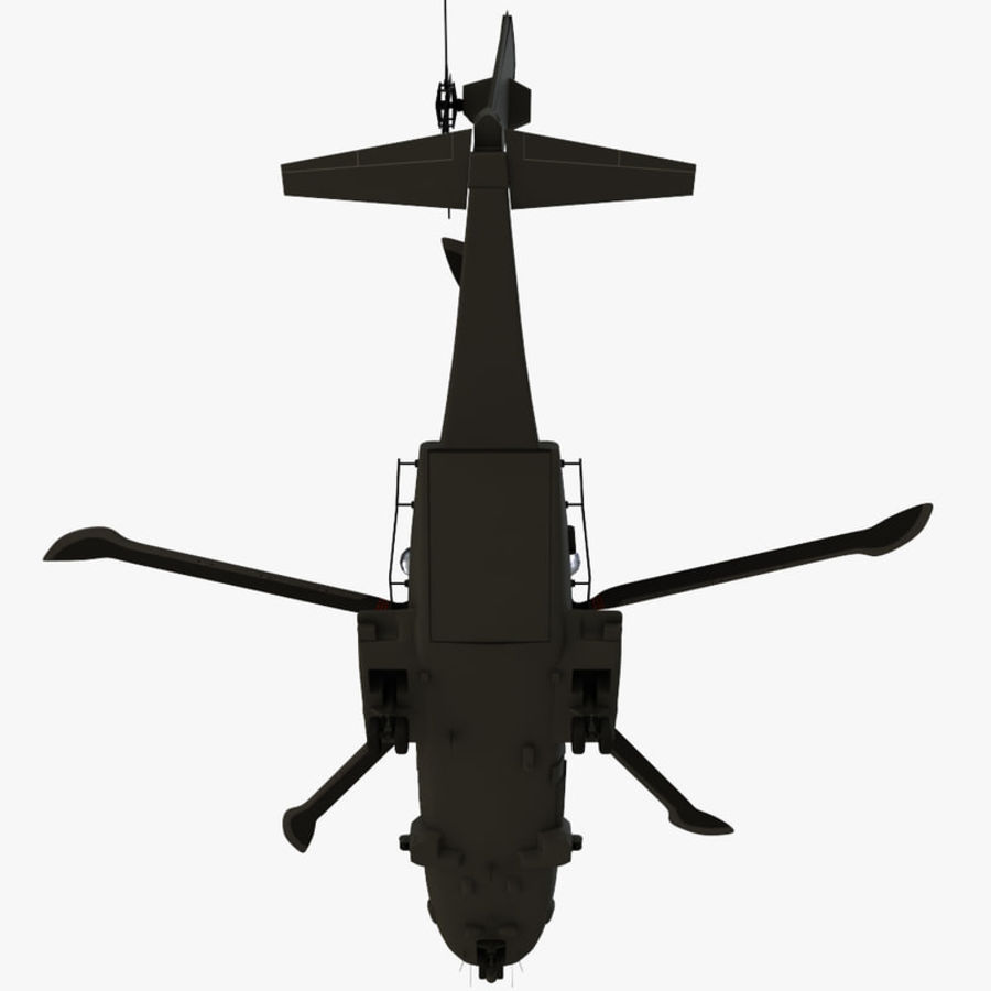 Agusta Westland AW101 - Merlin HC3 royalty-free 3d model - Preview no. 14