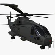 アグスタウェストランドAW101-マーリンHC3 3d model