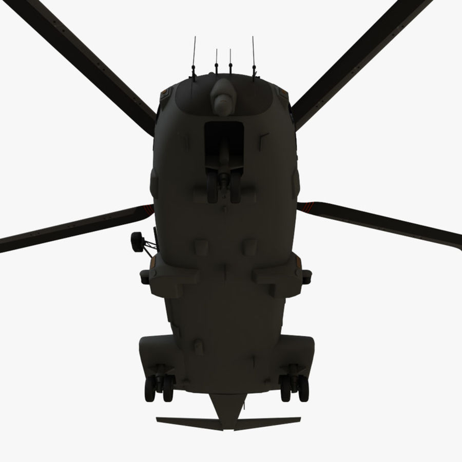 Agusta Westland AW101 - Merlin HC3 royalty-free 3d model - Preview no. 15