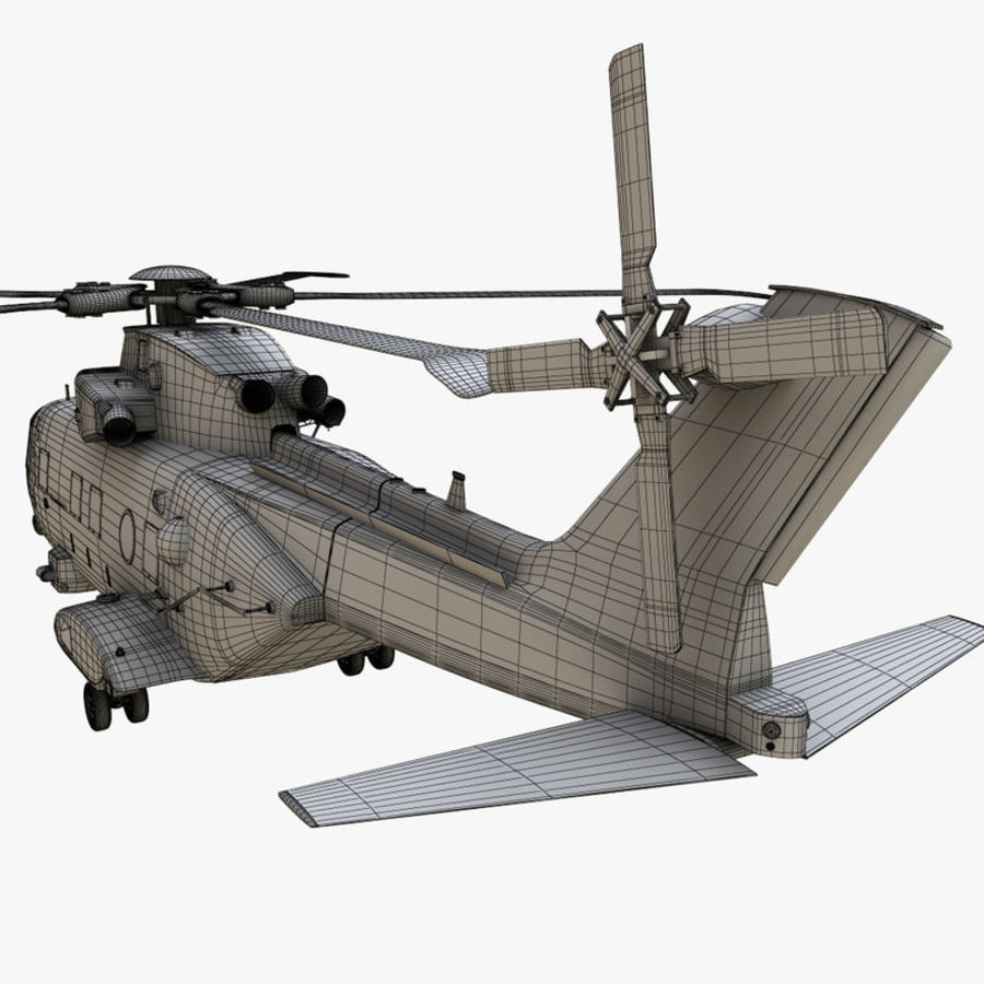 Agusta Westland AW101 - Merlin HC3 royalty-free 3d model - Preview no. 23