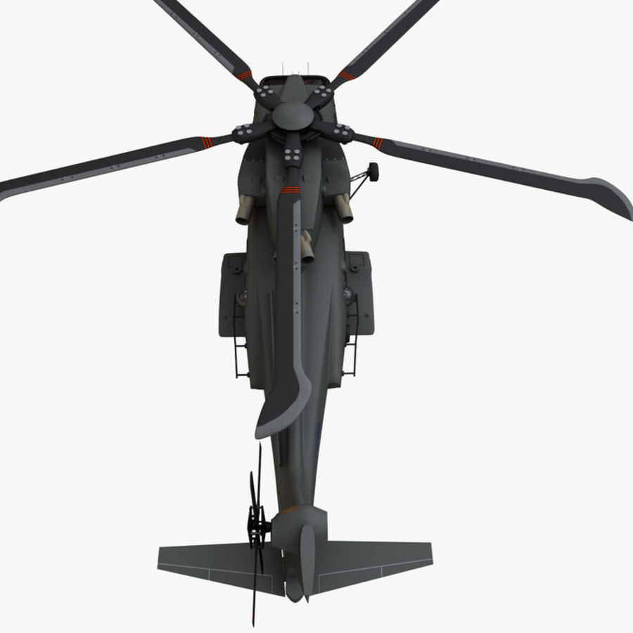 Agusta Westland AW101 - Merlin HC3 royalty-free 3d model - Preview no. 11