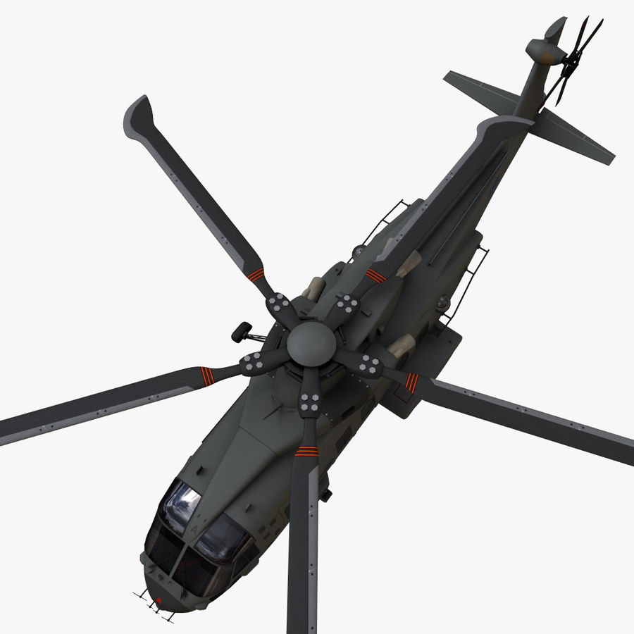 Agusta Westland AW101 - Merlin HC3 royalty-free 3d model - Preview no. 13