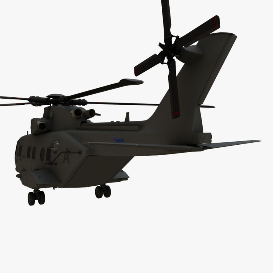 Agusta Westland AW101 - Merlin HC3 royalty-free 3d model - Preview no. 5