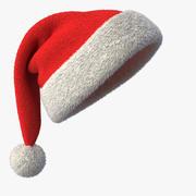 Sombrero de Santa modelo 3d
