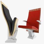 Armchair Flame  Figueras 3d model
