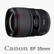 Canon EF 35mm f / 1.4L II 3d model