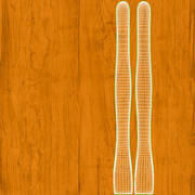 Ferramenta de argila de madeira 01 3d model