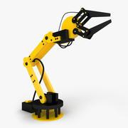 Bras robotique 3d model