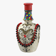 Voodoo Spirit Bottle 01 3d model
