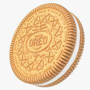 ゴールデンオレオクッキー 3d model