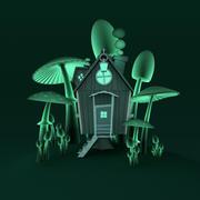 Scenario di casa infetta 3d model