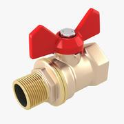 Válvula de água 3d model