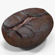 Roasted Coffee Bean 6 3d model