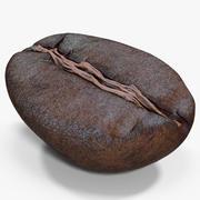 Roasted Coffee Bean 7 3d model