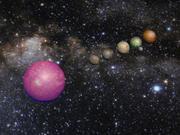 Alien Solar System 3d model