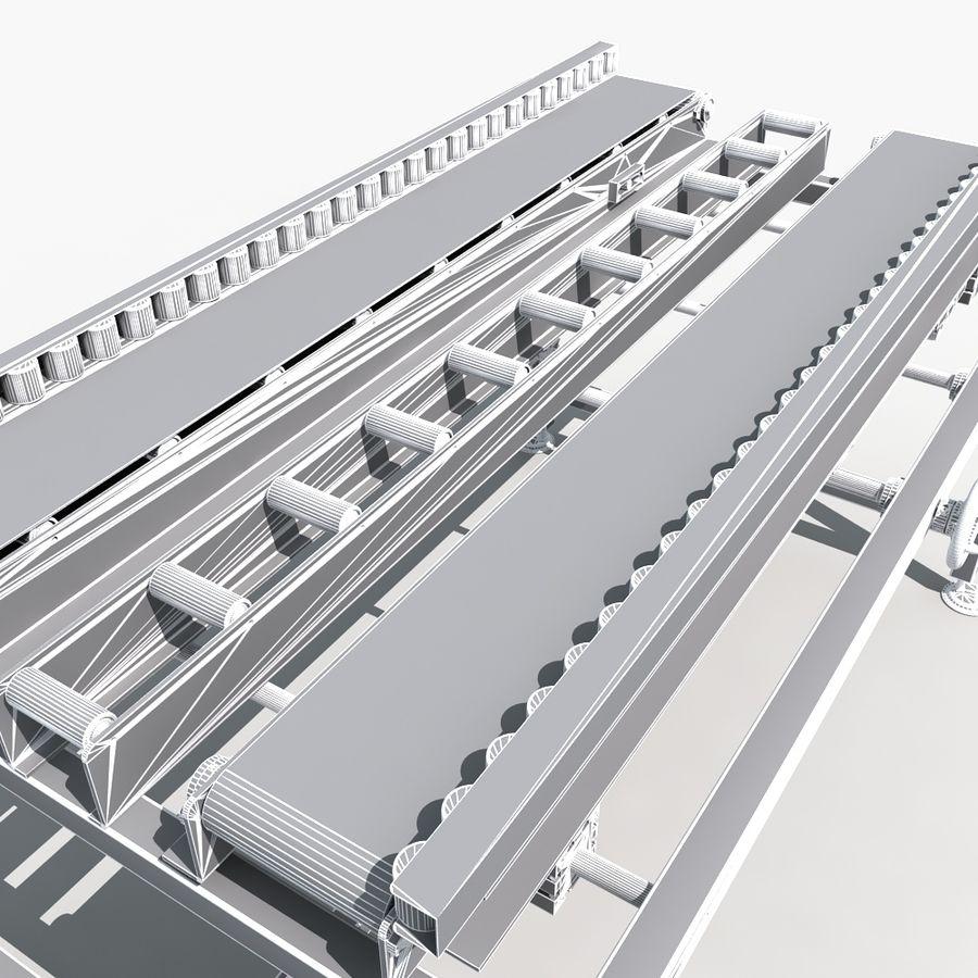 модель конвейера в 3d