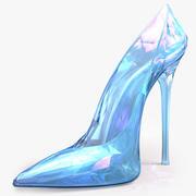 Sapatos de cristal 3d model
