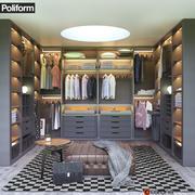 Garderoba Poliform SENZAFINE 3d model