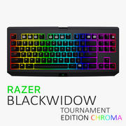 Razer BlackWidow Chroma Tournament Edition 3d model
