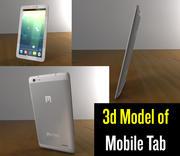 Tab 3d model