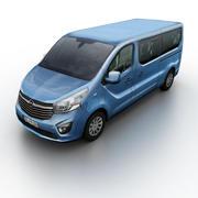 Opel Vivaro 2014 3d model