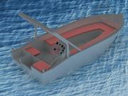 Alüminyum tekne 3d model