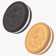 Biscuits Oreo 3d model