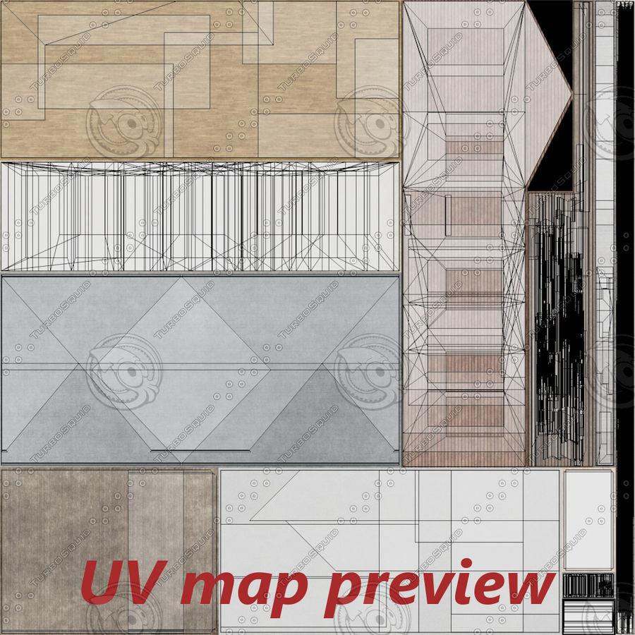 Maison Deux Avec Interieur Complet Modele 3d 39 Obj Fbx Dae Blend Free3d