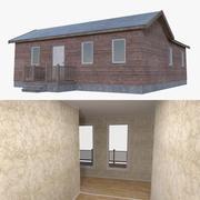 인테리어가 가득한 집 하나 3d model