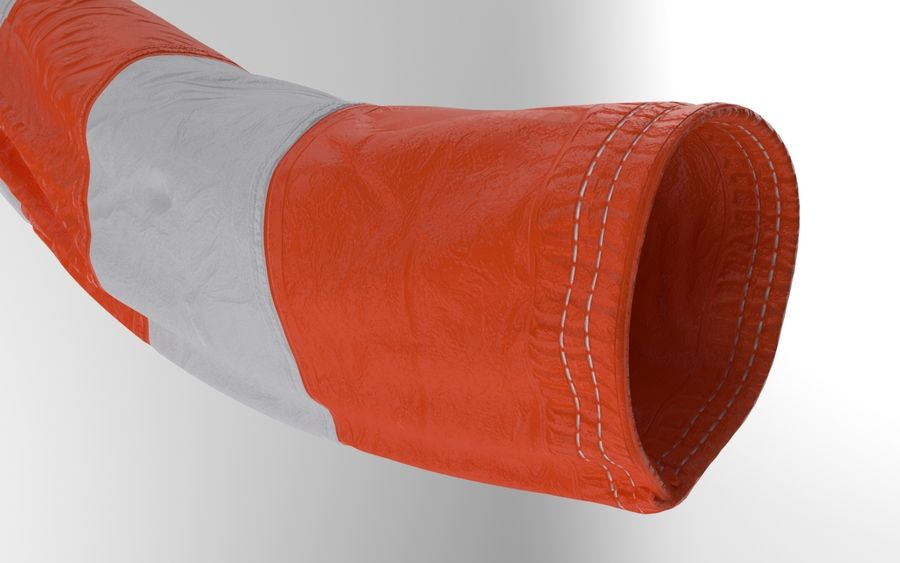 Windsock Animated royalty-free 3d model - Preview no. 7
