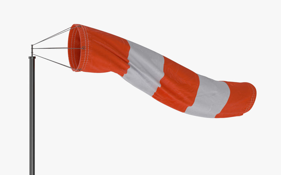 Windsock Animated royalty-free 3d model - Preview no. 1