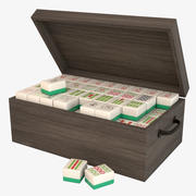 Mahjong Set 1 3d model