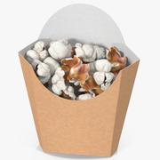 Popcorn 5 3d model