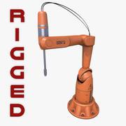 Braço robótico genérico equipado 3d model