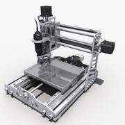 CNC engraving machine 3d model