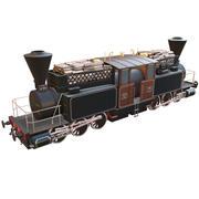 Fairlie locomotive 3d model