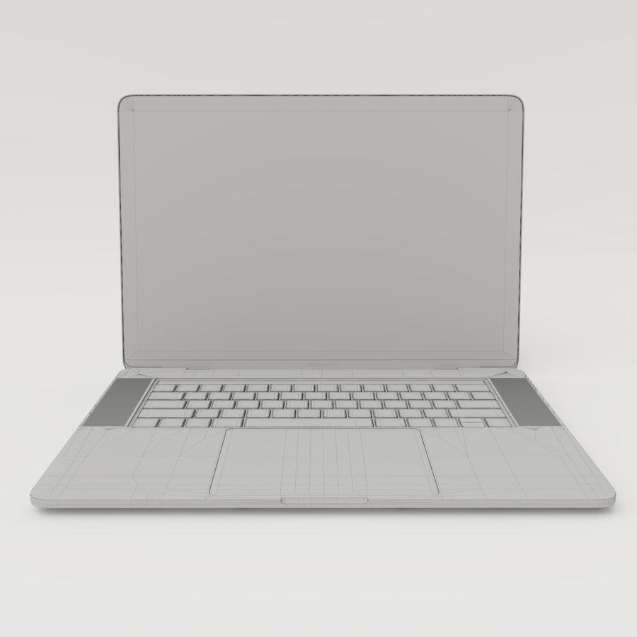 Barra táctil MacBook Pro de 15 pulgadas royalty-free modelo 3d - Preview no. 15