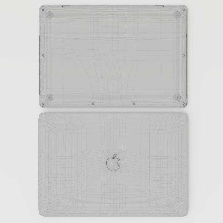 Barra táctil MacBook Pro de 15 pulgadas royalty-free modelo 3d - Preview no. 18