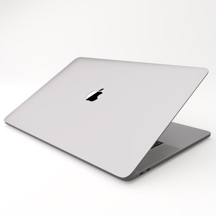 Barra táctil MacBook Pro de 15 pulgadas royalty-free modelo 3d - Preview no. 13