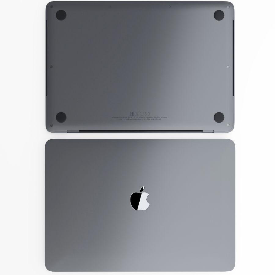 Barra táctil MacBook Pro de 15 pulgadas royalty-free modelo 3d - Preview no. 8