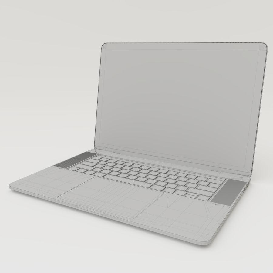 Barra táctil MacBook Pro de 15 pulgadas royalty-free modelo 3d - Preview no. 16
