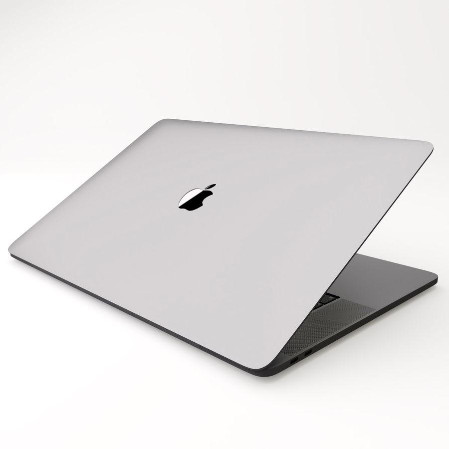 Barra táctil MacBook Pro de 15 pulgadas royalty-free modelo 3d - Preview no. 14