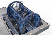 vagão basculante 3d model