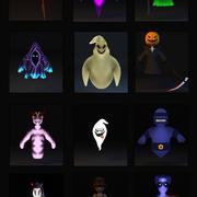Ghost Bundle (12 items) 3d model