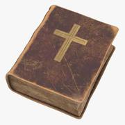 Vampire Hunter Kit - Old Bible 3d model