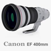 Canon EF 400mm f/2.8L IS II 3d model