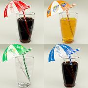 Gläser für kohlensäurehaltige Getränke 3d model