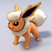 Flareon Pokemon 3d model